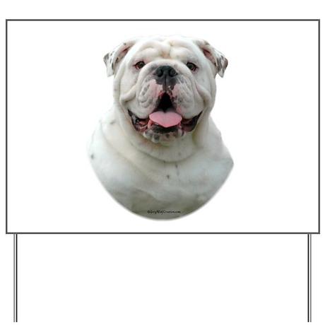 Bulldog 5 Yard Sign