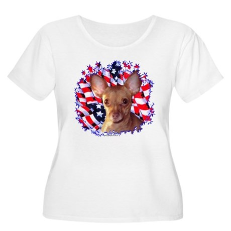 Chi 2 Women's Plus Size Scoop Neck T-Shirt