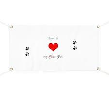 Shar Pei Love Banner