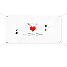 Chow Love Banner