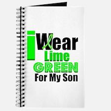Lime Green Ribbon Journal