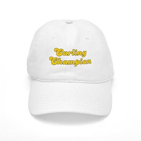 Retro Curling Cha.. (Gold) Cap