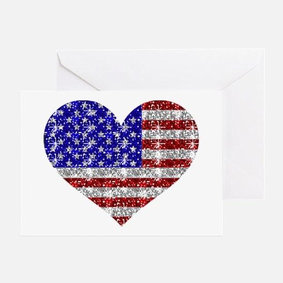 AMERICAN HEART Greeting Card