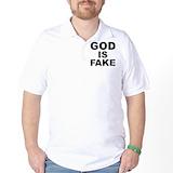 Anti god Golf Shirt
