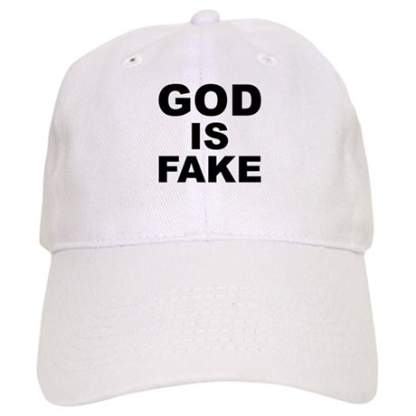 GOD IS FAKE Cap