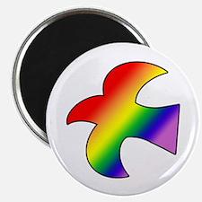 GLBT Dove Magnet (100)