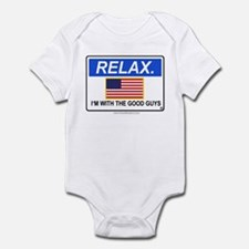 Relax. I'm with the Good Guys 'Clean Print' Infant