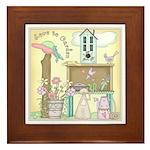 Love to Garden Framed Tile
