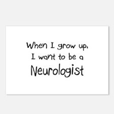 When I grow up I want to be a Neurologist Postcard