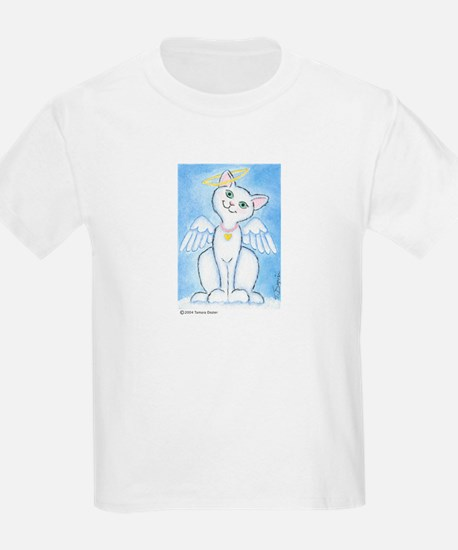 Angel Kitty Kids T-Shirt