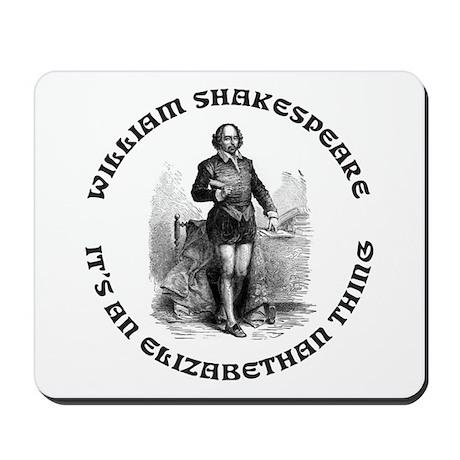 WILLIAM SHAKESPEARE T-SHIRTS Mousepad
