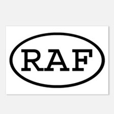 RAF Oval Postcards (Package of 8)