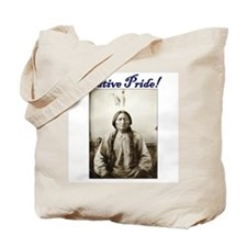 American Indian Native pride Sitting Bull Tote Bag