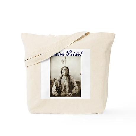 American Indian Native pride Sitting Bull Tote Bag