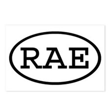 RAE Oval Postcards (Package of 8)