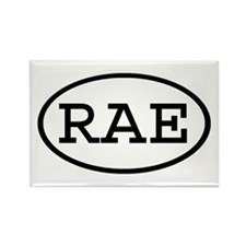 RAE Oval Rectangle Magnet