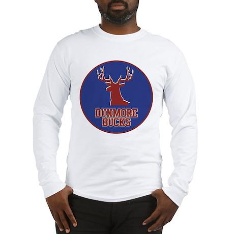 Dunmore Bucks Logo Long Sleeve T-Shirt
