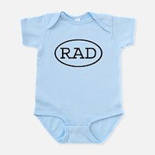 RAD Oval Infant Bodysuit
