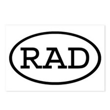 RAD Oval Postcards (Package of 8)