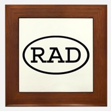 RAD Oval Framed Tile