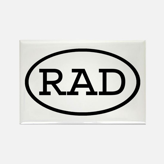 RAD Oval Rectangle Magnet