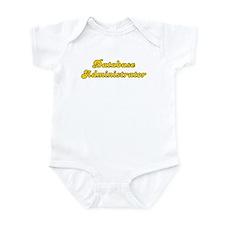 Retro Database ad.. (Gold) Infant Bodysuit