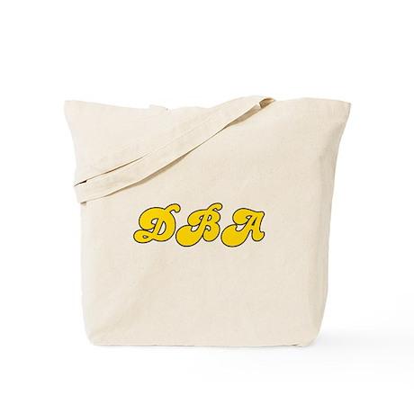 Retro DBA (Gold) Tote Bag