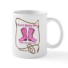 PINK BOOTS Mug