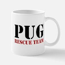Pug Rescue Team Mug