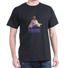 Jesus saves...only takes half damage T-Shirt