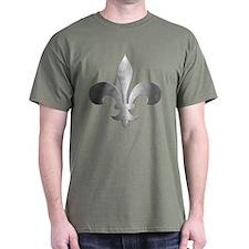 Metallic Fleur De Lis T-Shirt