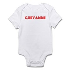 Retro Cheyanne (Red) Infant Bodysuit