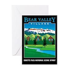 Bear Valley Village - Greeting Card