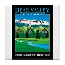 Bear Valley Village - Tile Coaster