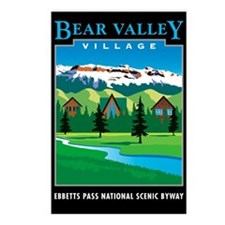 Bear Valley Village - Postcards (Package of 8)