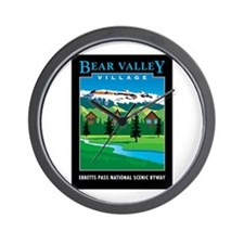 Bear Valley Village - Wall Clock