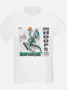 Hooplodicus Dino Hoops Kids T-Shirt