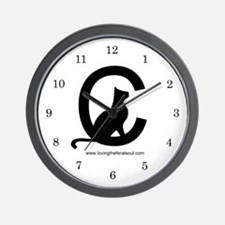 Loving the Feral Cat Soul Logo Wall Clock