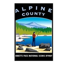 Alpine County - Postcards (Package of 8)