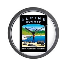 Alpine County - Wall Clock