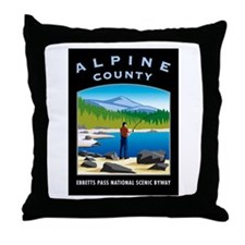 Alpine County - Throw Pillow