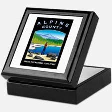 Alpine County - Keepsake Box