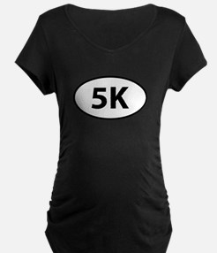 5K Runner Oval T-Shirt