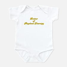Retro Doctor of P.. (Gold) Infant Bodysuit