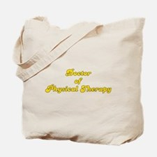 Retro Doctor of P.. (Gold) Tote Bag