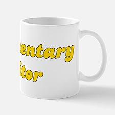 Retro Documentary.. (Gold) Mug