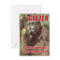 Gifts for Geezers Greeting Card