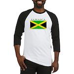 Jamaica Jamaican Flag Baseball Jersey