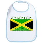 Jamaica Jamaican Flag Bib