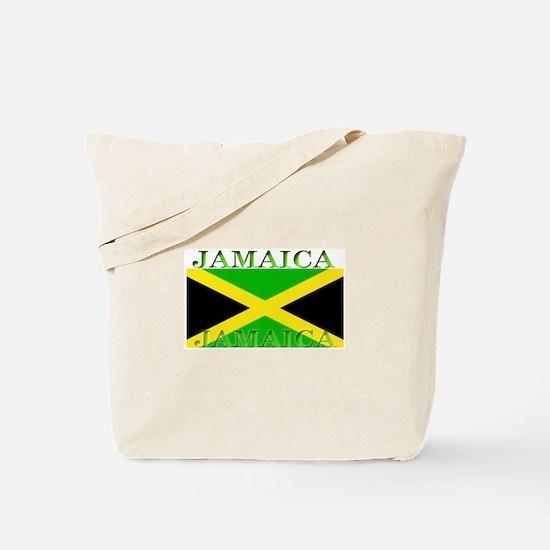 Jamaica Jamaican Flag Tote Bag